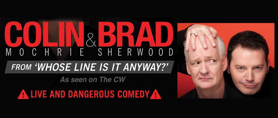 Book Colin and Brad Improv Comedy