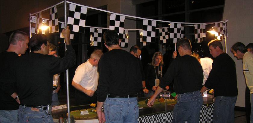 slot cars, interactive racing