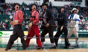Half time performance Amazing Christopher - Jackson 5