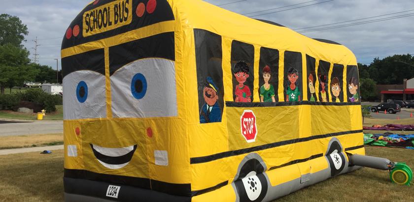 School Bus Combo Entertainment