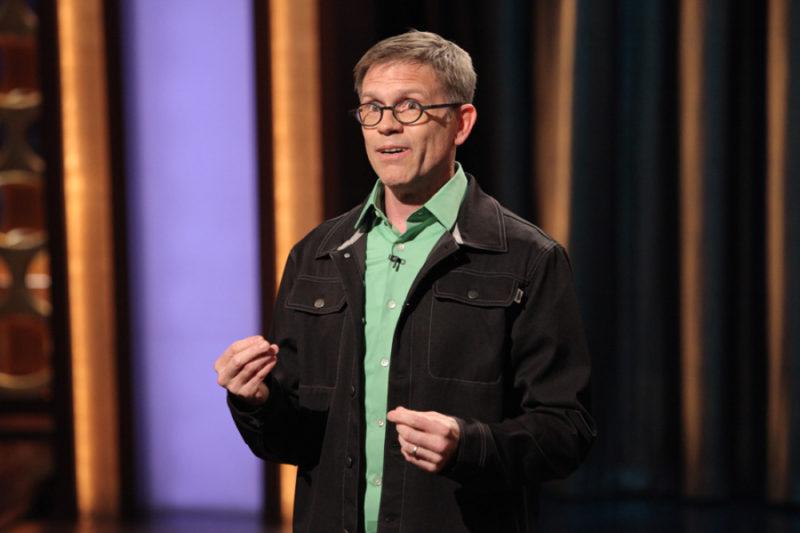 Clean Comedian Bengt Washburn on TV