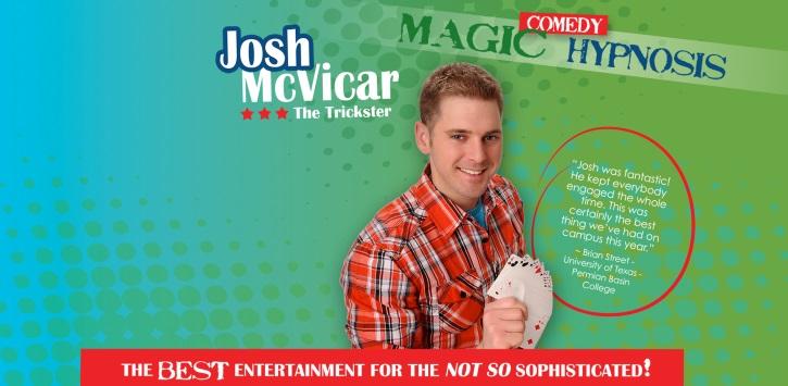 Book Josh McVicar - Hire Josh McVicar