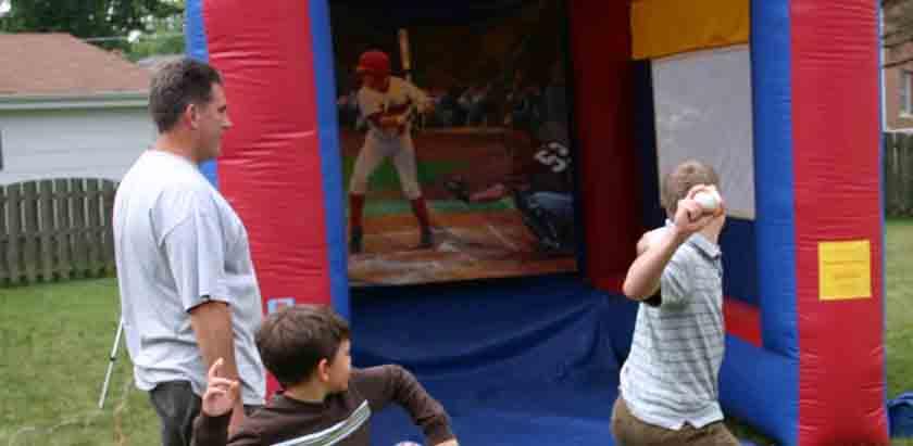 Speed Pitch Baseball Rental