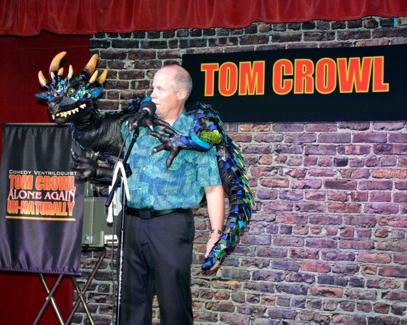 Tom Crowl Clean Ventriloquist