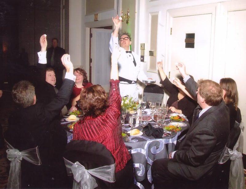 wacky waiter dinner party
