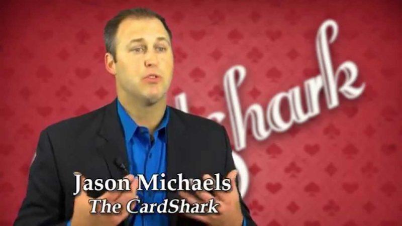 The CardShark Jason Michaels on TV