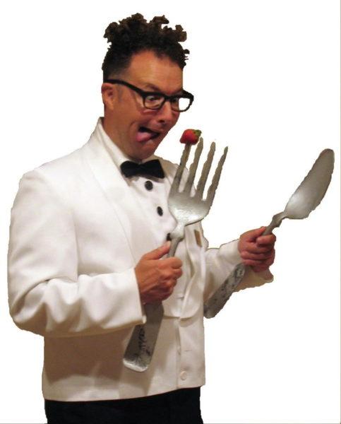 hire the wacky waiter