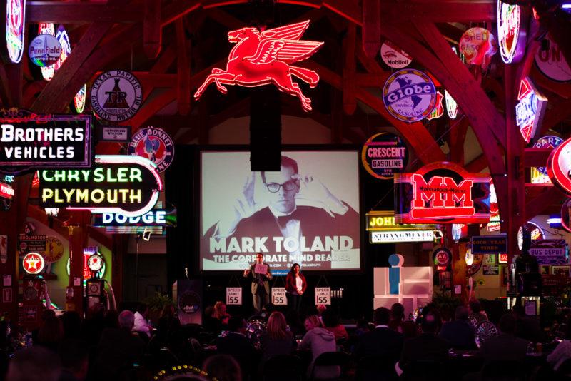 corporate Mind Reader Mark Toland