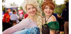 Elsa & Anna Roving Characters