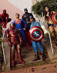 Hero Costume Characters