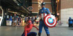 Captain America & Spiderman