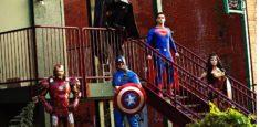 Iron Man, Captain America, Batman, Superman, Wonderwoman