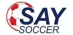 Say Soccer Logo