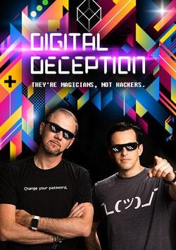 Digital Deception - Virtual Magic Poster - Funny Business Agency