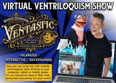 Michael Harrison - Virtual Ventriloquist - Funny Business Agency