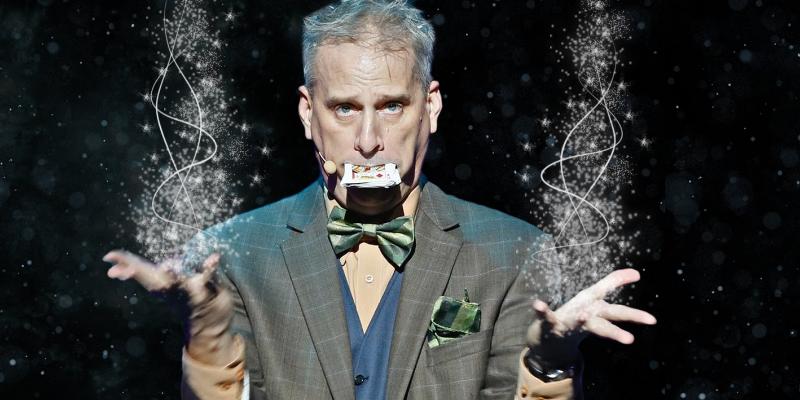 Hire Magician David Williamson Illusionist - Funny Business Agency