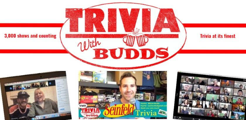 Trivia with Budds - Virtual Trivia