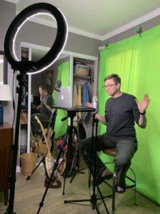 Kristin Key - Virtual Comedian Setup - Funny Business Agency